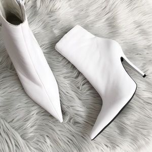 Jeffrey Campbell pointy toe booties